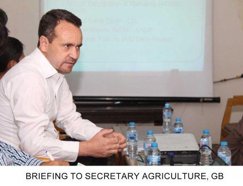Delegation of Agriculture